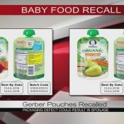 Gerber Pouches Recalled Due To Packaging