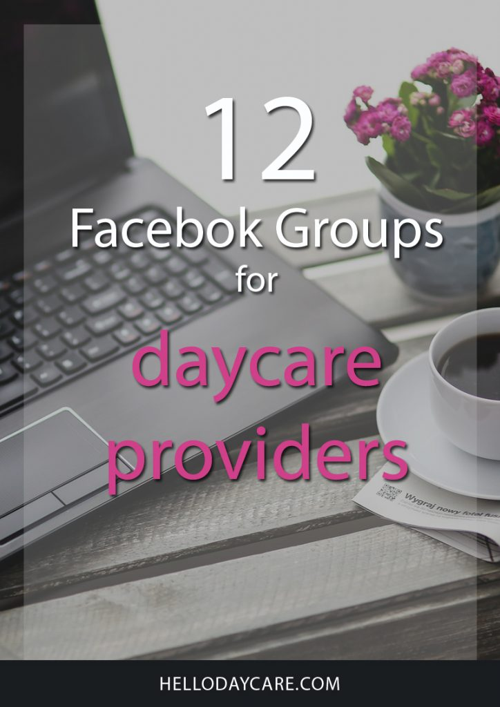 12 Facebook Groups For Daycare Providers