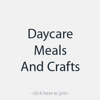 Daycare Meals And Crafts