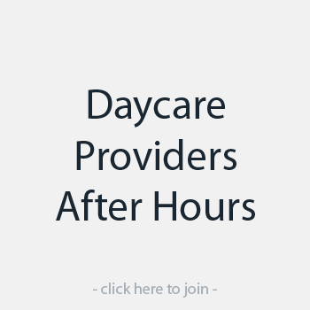 Daycare Providers - After Hours