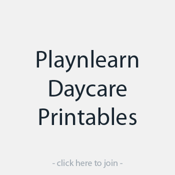 Playnlearn Daycare Printables