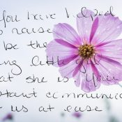 Treasured Letters To A Daycare Provider